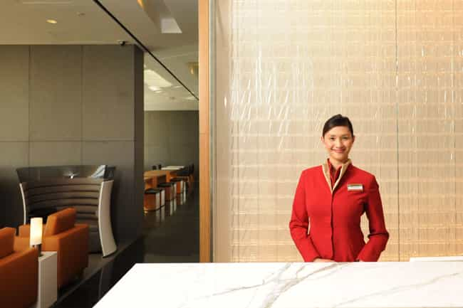 Cathay Pacific Lounge - SFO is listed (or ranked) 3 on the list The Best Airport Lounges In The U.S.