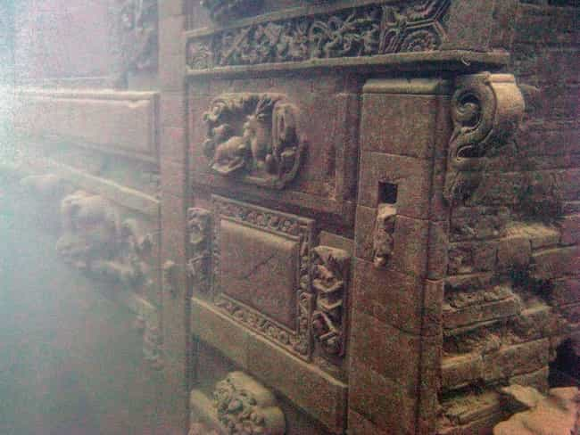 Traditional Chinese Carvings A... is listed (or ranked) 4 on the list This Eerily Beautiful Underwater Chinese Town Was Discovered - And You Can Visit It
