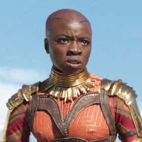 Okoye is listed (or ranked) 16 on the list Which MCU Character Would Make The Best President During A Crisis?
