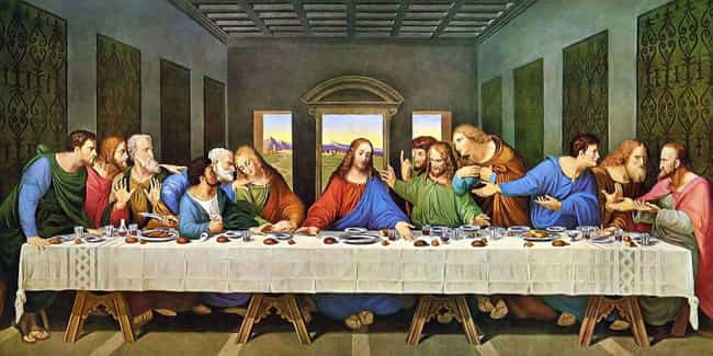 The Last Supper Probably Didn'... is listed (or ranked) 1 on the list Here's What Historians Think It Would Have Been Like To Be At The Last Supper