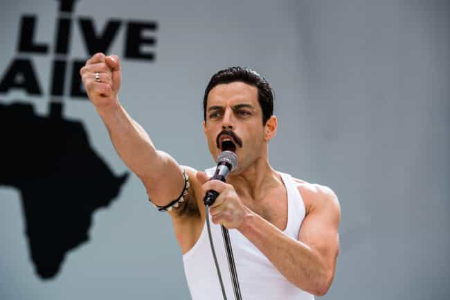 Queen Was Hardly On A Break Pr... is listed (or ranked) 1 on the list All Of The Inaccuracies In 'Bohemian Rhapsody'