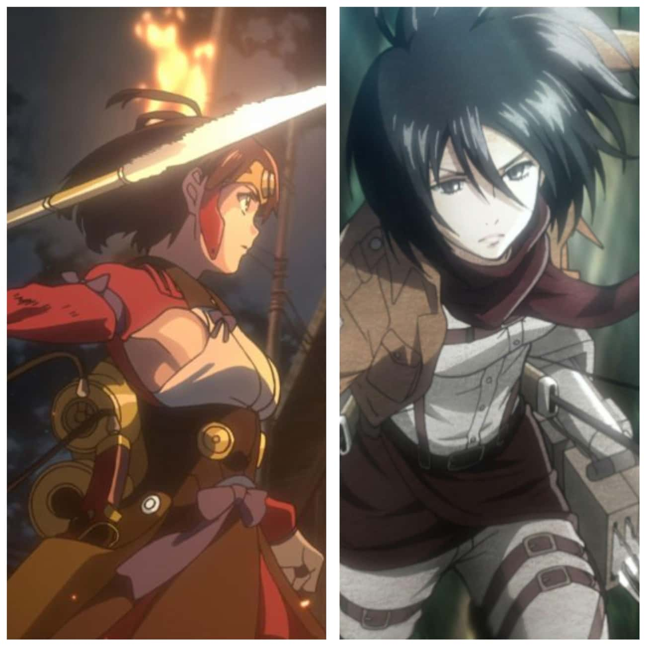 Kabaneri Of The Iron Fortress' is listed (or ranked) 3 on the list 12 Popular Anime Series That Definitely Borrowed From Other Anime