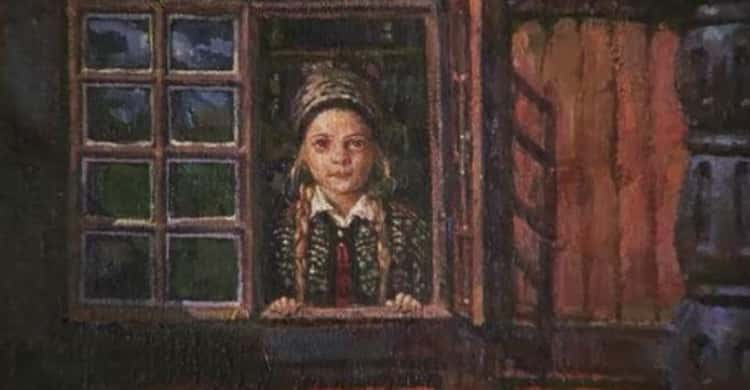 There's A Girl Trapped In A Painting