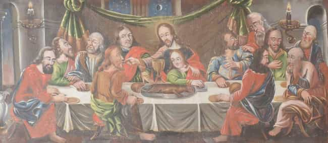 The Apostles Definitely Ate Br... is listed (or ranked) 2 on the list Here's What Historians Think It Would Have Been Like To Be At The Last Supper