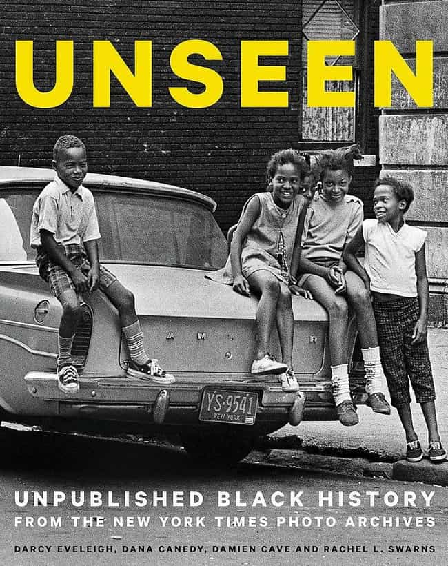 Unseen: Unpublished Black Hist... is listed (or ranked) 1 on the list Coffee Table Books For History Nerds