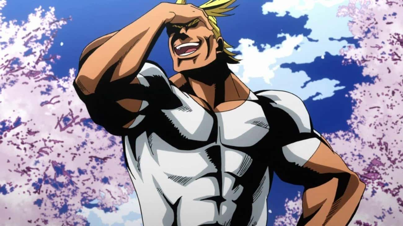 All Might Retires Without A Si is listed (or ranked) 1 on the list 13 Undefeated Anime Heroes Who Have Never Technically Lost A Fight