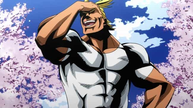 All Might Retires Without A Si... is listed (or ranked) 2 on the list 13 Undefeated Anime Heroes Who Have Never Technically Lost A Fight