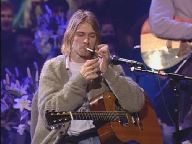 Going Into 'Unplugged,' ... is listed (or ranked) 3 on the list Behind The Scenes Of Nirvana's Timeless 'MTV Unplugged' Performance