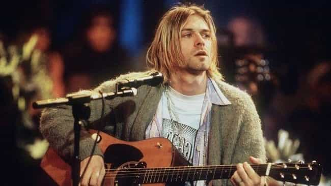 Kurt Cobain Was Allegedly Suff... is listed (or ranked) 1 on the list Behind The Scenes Of Nirvana's Timeless 'MTV Unplugged' Performance