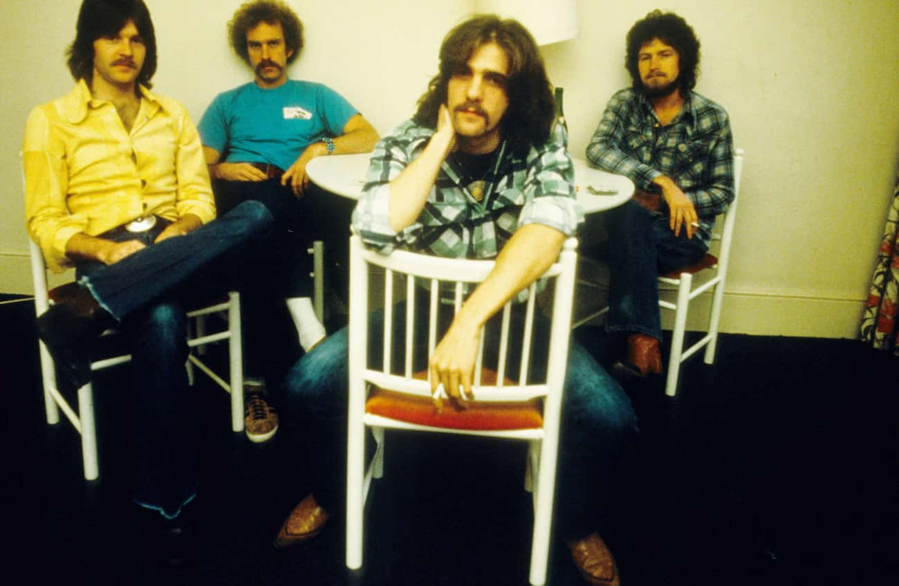 Glenn Frey Fought Randy Meisne is listed (or ranked) 1 on the list The Eagles Sure Have A Lot Of Behind-The-Scenes Drama For A Band That Wants You To 'Take It Easy'