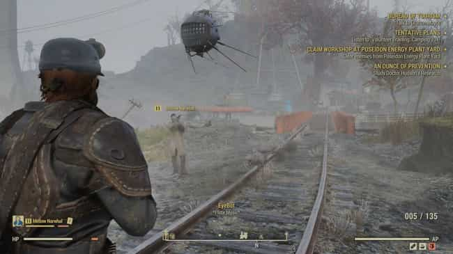 The Pied Piper Of Rad-Rats is listed (or ranked) 3 on the list The Best 'Fallout 76' Easter Eggs