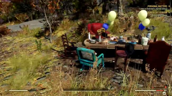 The Mad Hatter's Tea Party is listed (or ranked) 2 on the list The Best 'Fallout 76' Easter Eggs