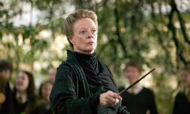 Professor McGonagall - W... is listed (or ranked) 4 on the list All The Connections Between 'Fantastic Beasts 2' And 'Harry Potter'