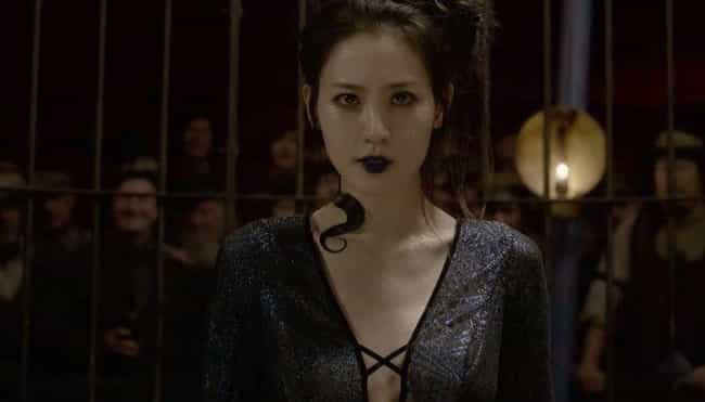 Nagini - At The Parisian... is listed (or ranked) 2 on the list All The Connections Between 'Fantastic Beasts 2' And 'Harry Potter'