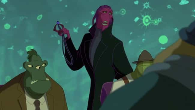 The Bad Guy Is Incredibl... is listed (or ranked) 1 on the list 'Osmosis Jones' Is A Fever Dream Of A Movie
