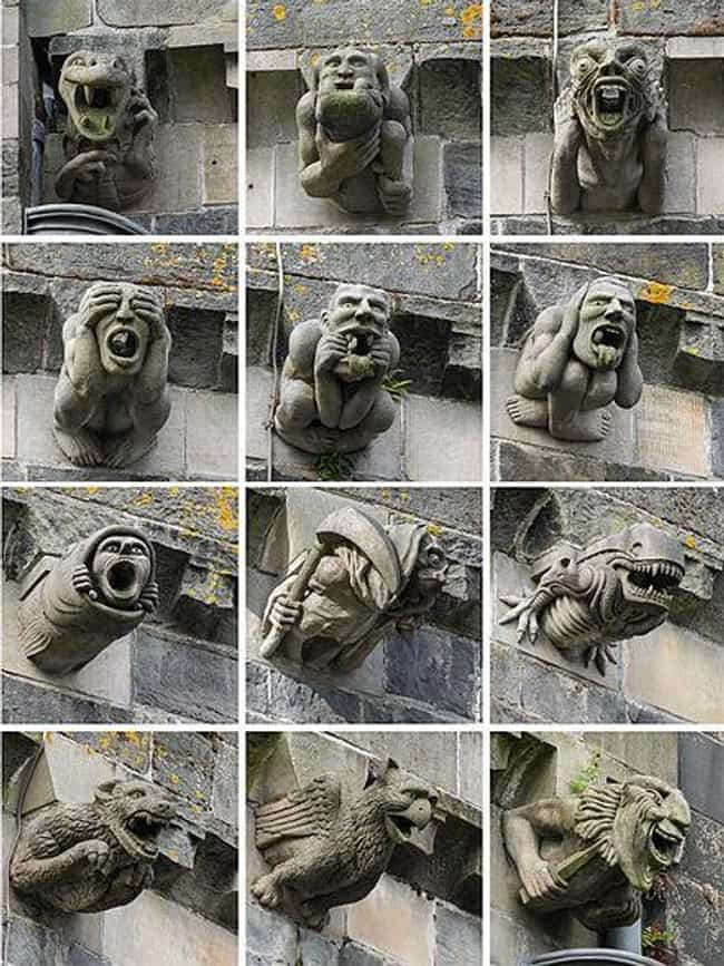 Not Every Building Sculpture I... is listed (or ranked) 2 on the list The Dark History Of Gargoyles, The Creatures That Inspired Your Favorite Childhood Cartoon