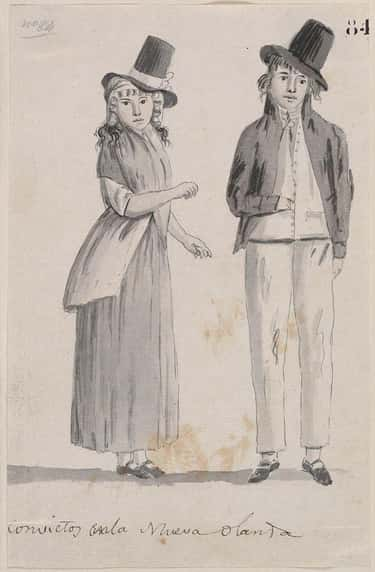 Many Of The Ship's Sailors Took The Convict Women As 'Wives'