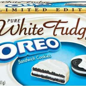 Pure White Fudge Covered Oreo is listed (or ranked) 21 on the list The Best Oreo Flavors