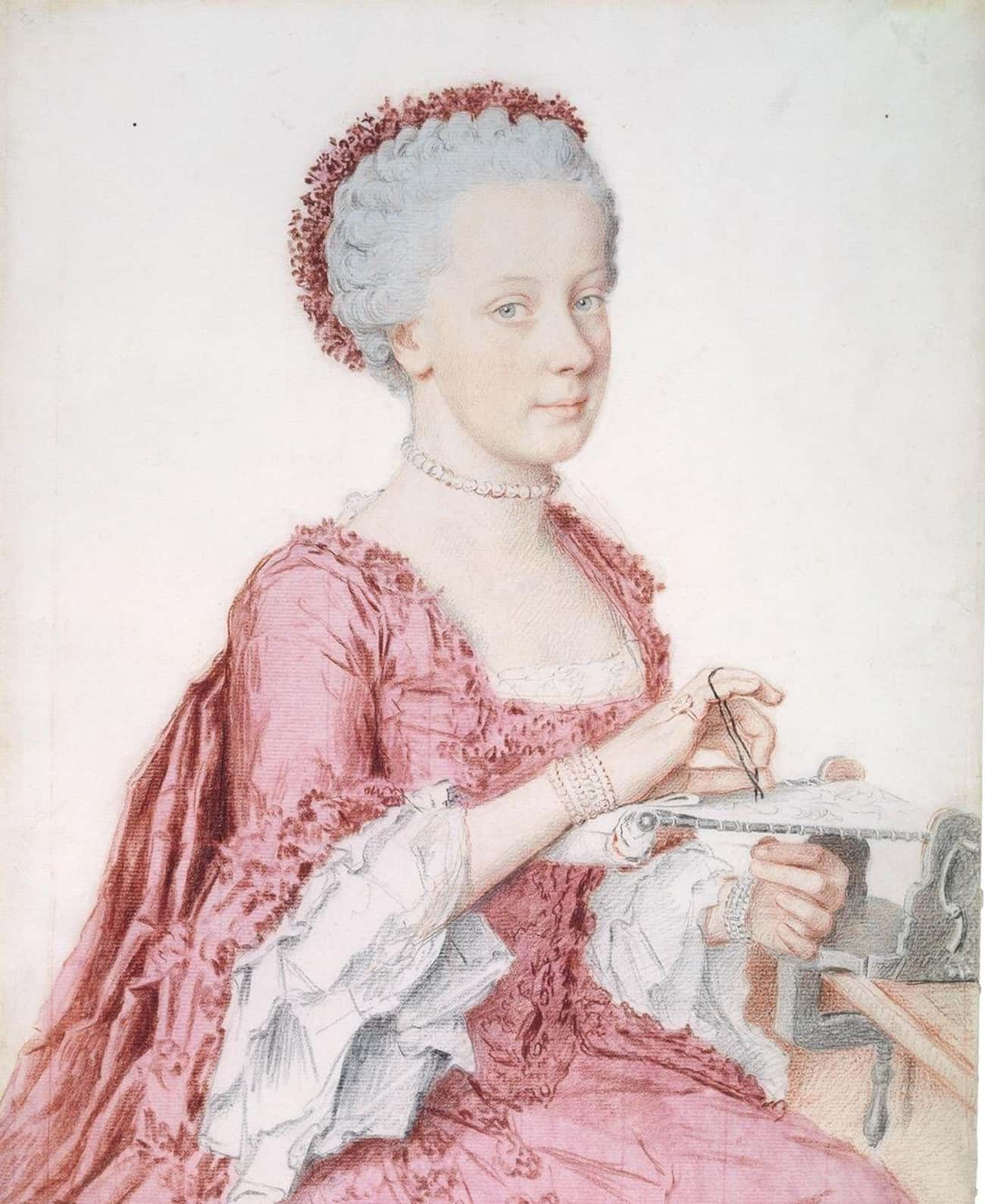 Maria Theresa Supposedly Told Her Daughter Maria Amalia, 'The Less You Speak The Better'