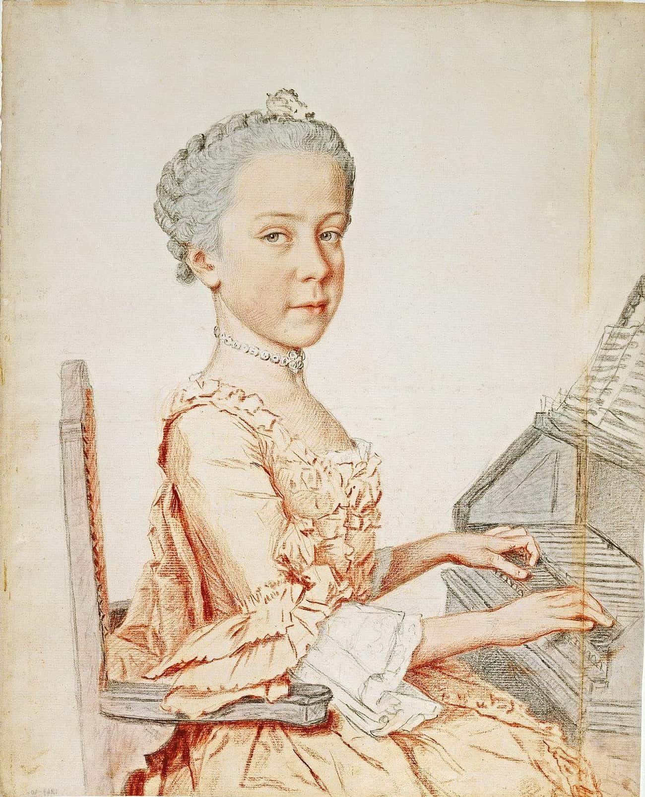 When Maria Josepha Died Of Smallpox Right Before Her Wedding, Maria Theresa Appointed Another Daughter As A Substitute