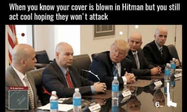 Might As Well Keep Hiding is listed (or ranked) 1 on the list The Best 'Hitman 2' And 'Hitman' Memes