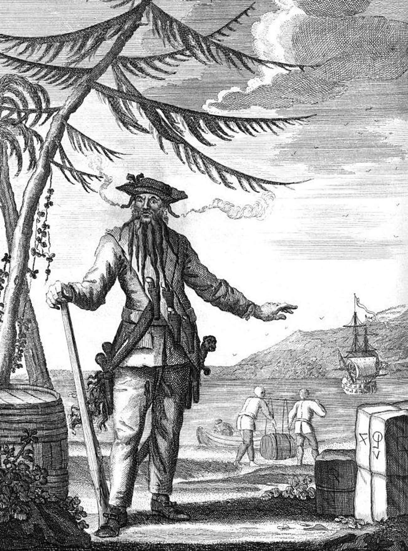 Blackbeard's Treasure May Stil is listed (or ranked) 2 on the list Important Historical Artifacts That Are Still Missing
