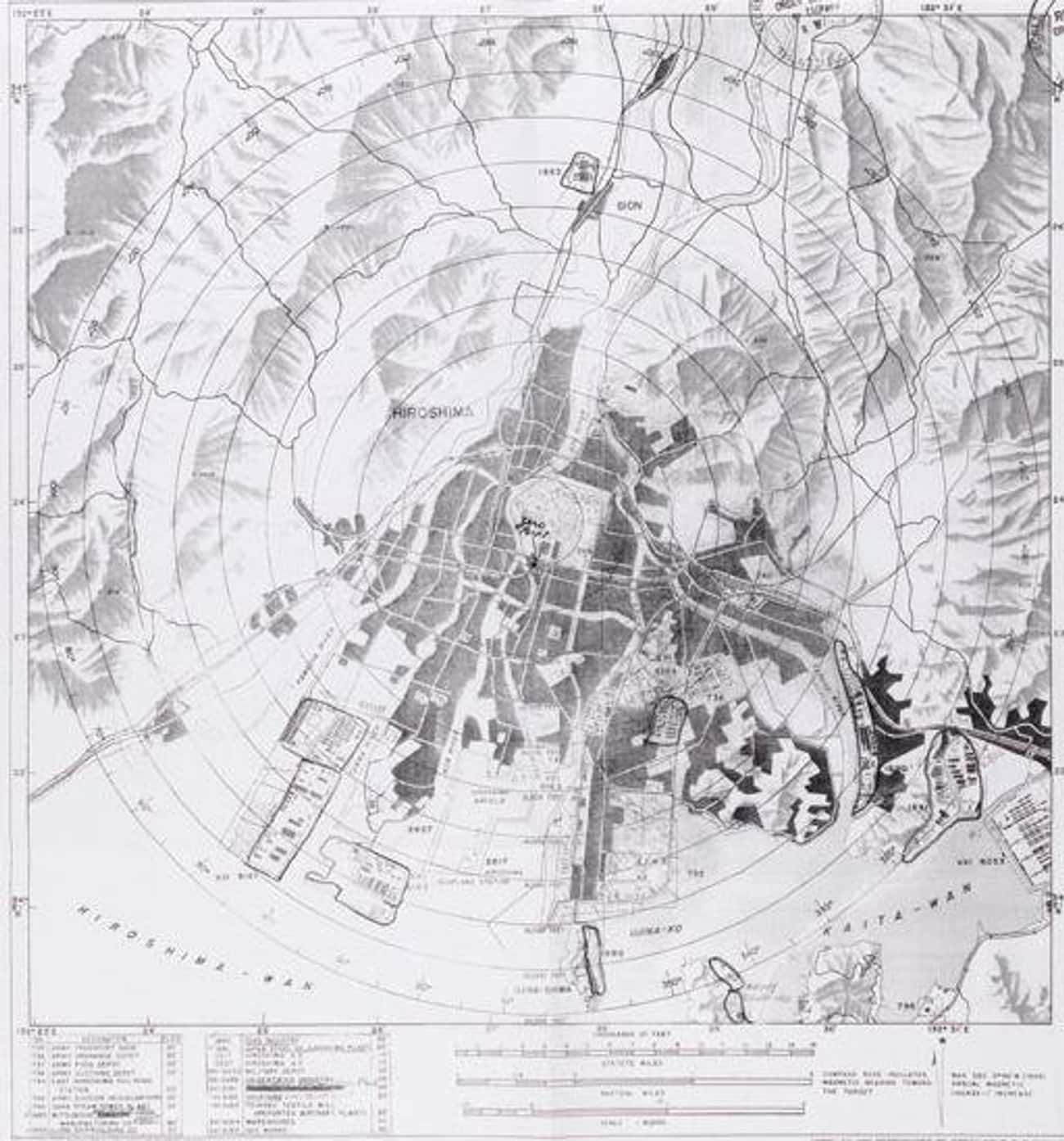The Map Used To Plan The Atomi is listed (or ranked) 4 on the list Important Historical Artifacts That Are Still Missing
