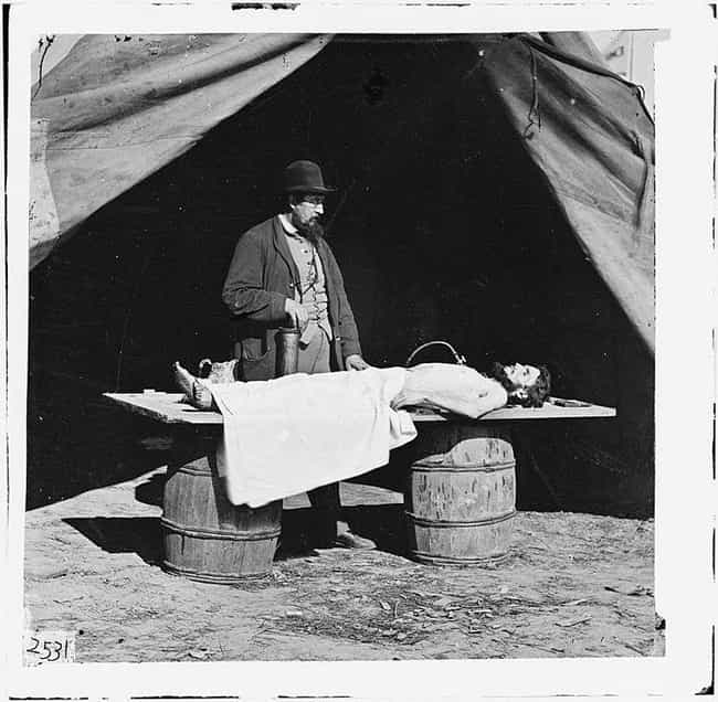 Embalming During The Civil War... is listed (or ranked) 4 on the list The Creepiest, Most Haunting Photos Of The Civil War