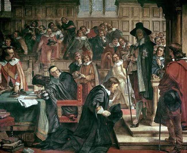 In 1642, The King And Parliame is listed (or ranked) 10 on the list Only One English King Has Ever Been Killed By His Own People - But The Monarchy Wasn't Gone For Long