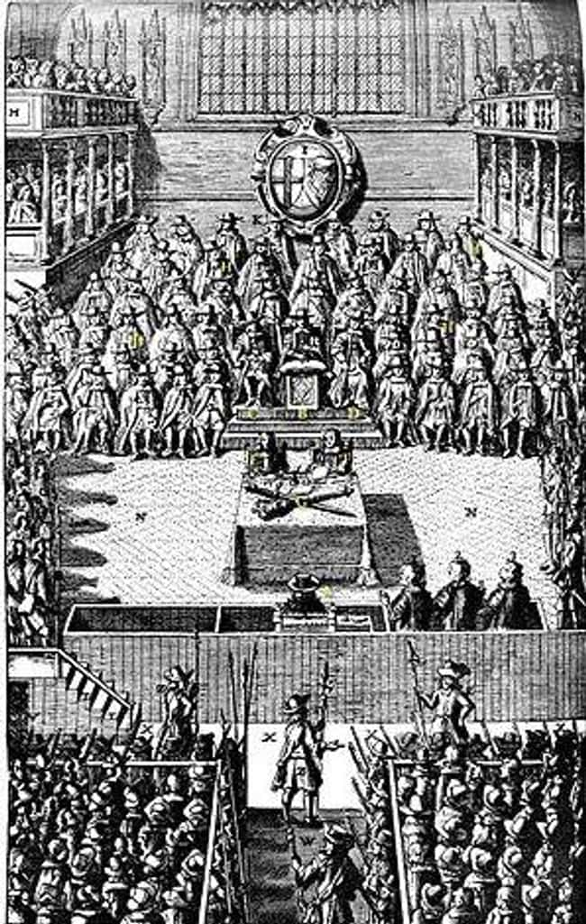 At His Trial, Charles Was Defi is listed (or ranked) 14 on the list Only One English King Has Ever Been Killed By His Own People - But The Monarchy Wasn't Gone For Long