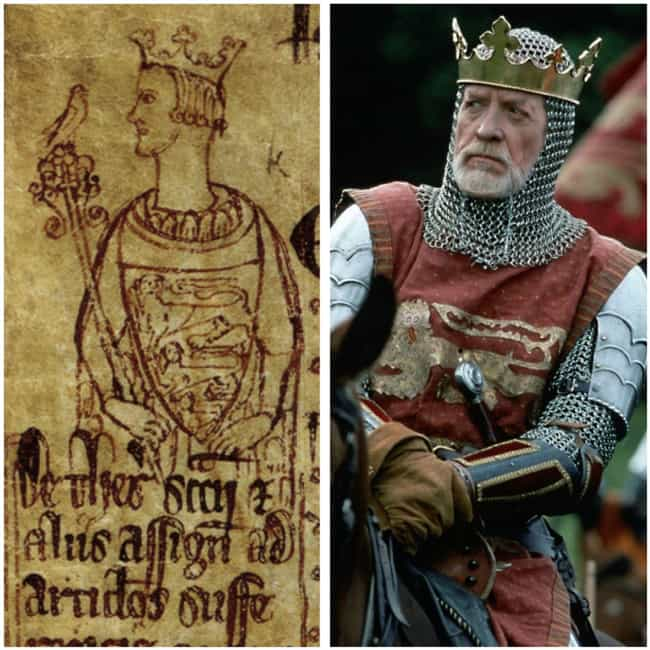 King Edward I - Patrick McGooh... is listed (or ranked) 3 on the list How The 'Braveheart' Actors Compare To Their Real Historical Counterparts