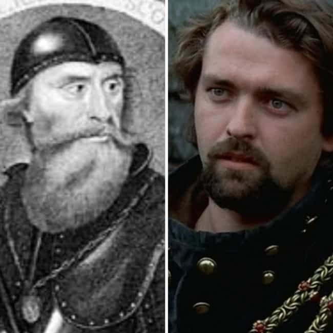 Robert The Bruce - Angus Macfa... is listed (or ranked) 4 on the list How The 'Braveheart' Actors Compare To Their Real Historical Counterparts