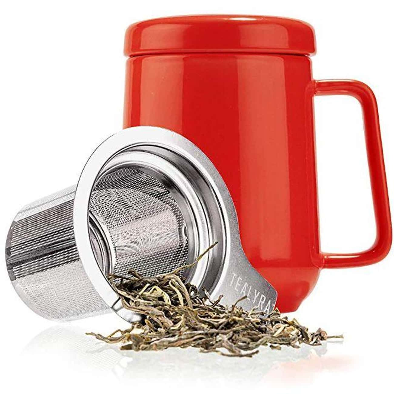 Peak Ceramic Red Tea Cup Infus is listed (or ranked) 4 on the list The Best Secret Santa Gifts