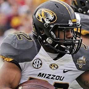 Russell Hansbrough is listed (or ranked) 8 on the list The Best Missouri Tigers Running Backs of All Time