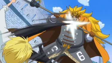 Sanji Vinsmoke Vs. Judge Vinsm is listed (or ranked) 2 on the list The 15 Greatest Parent-Child Fights In Anime