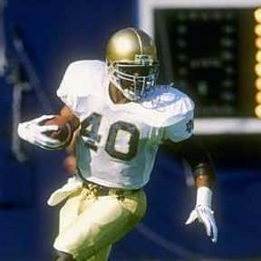 Tony Brooks is listed (or ranked) 11 on the list The Best Notre Dame Fighting Irish Running Backs of All Time