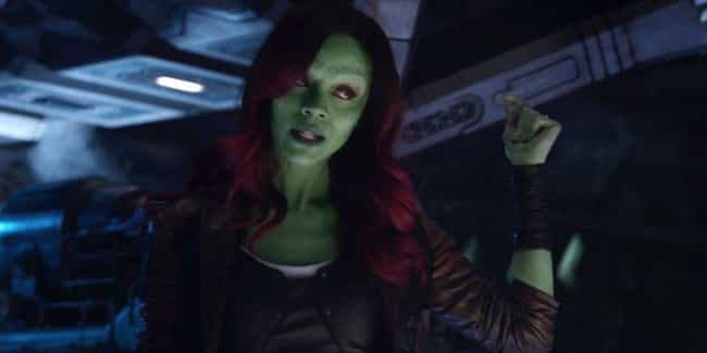 Gamora Pursues Thanos is listed (or ranked) 3 on the list The Objectively Worst Decisions Made In 'Avengers: Infinity War'