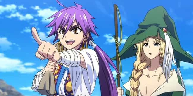 Magi: Adventure Of Sinba... is listed (or ranked) 2 on the list The 15 Best Anime Prequels of All Time