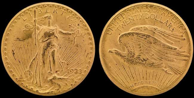 1933Saint-Gaudens Double Eagl... is listed (or ranked) 1 on the list Shatter Your Old Piggy Bank Because These Rare Coins Now Cost a Pretty Penny