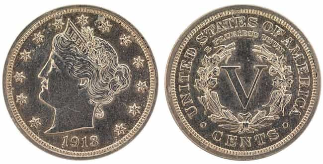1913 Liberty Head Nickel is listed (or ranked) 2 on the list Shatter Your Old Piggy Bank Because These Rare Coins Now Cost a Pretty Penny