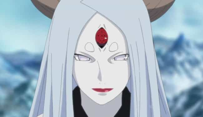 Kaguya Otsutsuki is listed (or ranked) 7 on the list The 20 Worst Naruto Characters In Series History