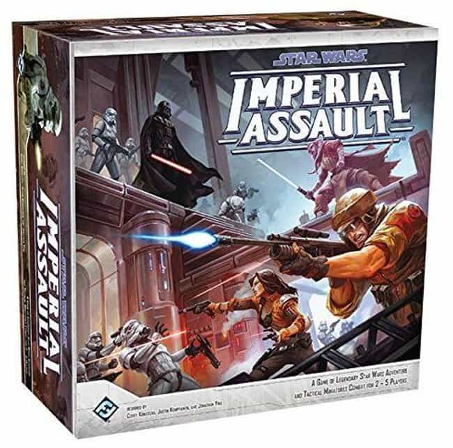 Imperial Assault is listed (or ranked) 3 on the list The Best Star Wars Board Games Out Right Now