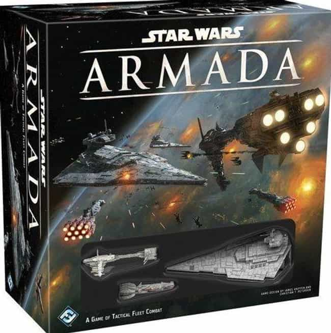 Armada is listed (or ranked) 7 on the list The Best Star Wars Board Games Out Right Now