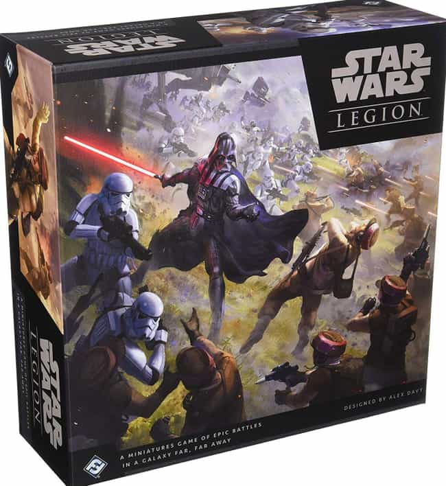 Legion is listed (or ranked) 2 on the list The Best Star Wars Board Games Out Right Now
