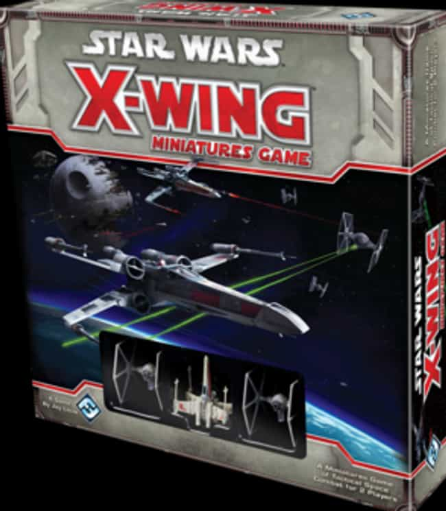 X-Wing Miniatures Game is listed (or ranked) 6 on the list The Best Star Wars Board Games Out Right Now
