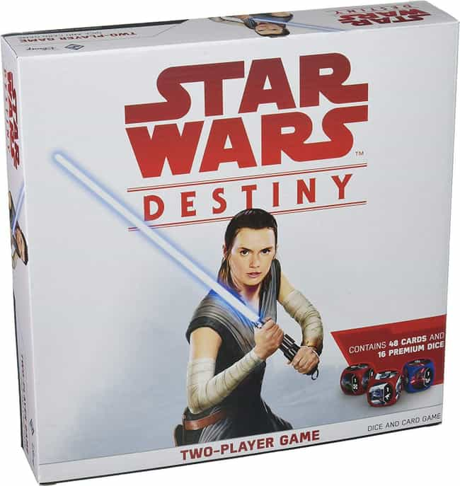 Destiny is listed (or ranked) 3 on the list The Best Star Wars Board Games Out Right Now