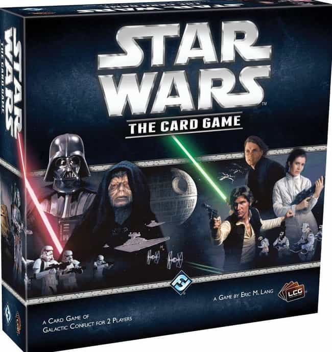 Star Wars The Card Game is listed (or ranked) 8 on the list The Best Star Wars Board Games Out Right Now