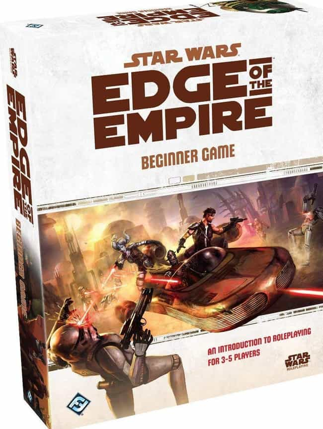 Edge of the Empire is listed (or ranked) 4 on the list The Best Star Wars Board Games Out Right Now