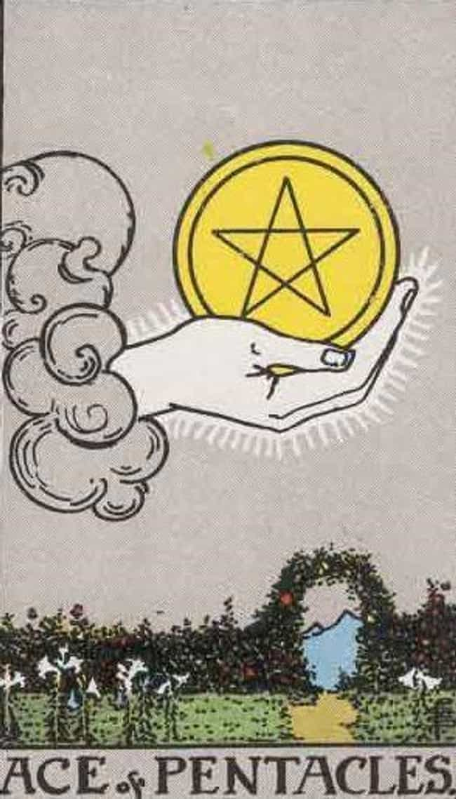 Ace of Pentacles is listed (or ranked) 1 on the list The Best Tarot Cards For Good Luck