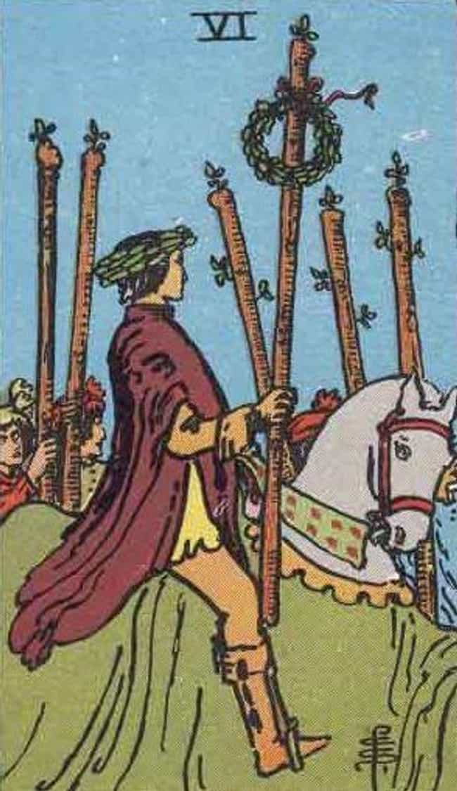 Six of Wands is listed (or ranked) 7 on the list The Best Tarot Cards For Good Luck